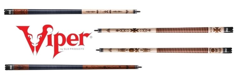 Viper-desperado-Pool_Cue-Review-Death_Mark-Freedom-Sting-Iron_Cross-cue_sticks