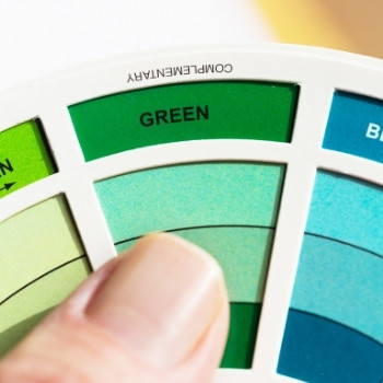 using a color wheel for the best pool table felt color